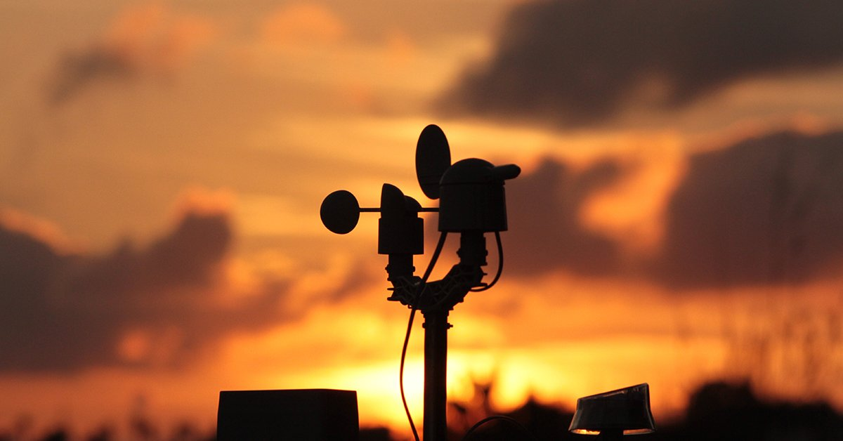 weather-station-in-the-golden-hour